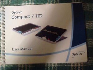 Optelec Compact 7 HD Magnifier