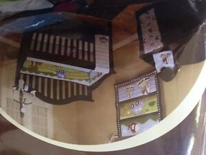 3 Brand new baby crib set