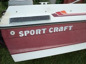 Parting Out Sport Craft 18ft 3 liter GM OMC engine
