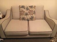 Corner sofa and 2 seat sofa