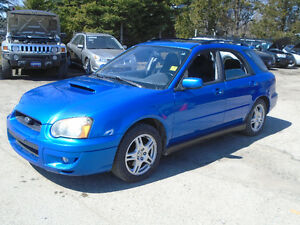 2004 Subaru WRX Turbo 5 speed AWD moon roof SAFETY AND ETEST INC