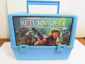 Vintage Return of the Jedi plastic lunchbox