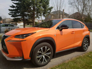 Lexus NX 200t-2017-Lease Takeover-sport package F2