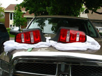 MUSTANG GT 2010 = OEM TAIL LIGHT ASSEMBLY DRIVER AND PASSENGER