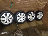 """Vauxhall alloy wheels 15"""""""