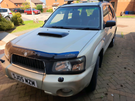 Subaru Forester 2.0l xt auto. SPARES or REPAIRS.