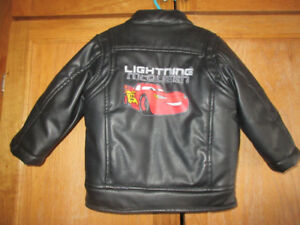 Lightning McQueen Leather Jacket