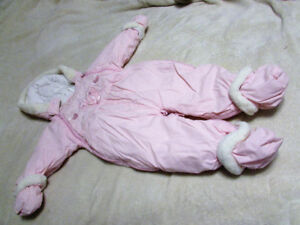 Toddler Girls Snowsuits and Snow Pants