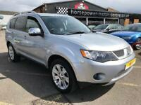 2009 Mitsubishi Outlander 2.2 DI-DC Diamond 5dr Diesel silver Manual