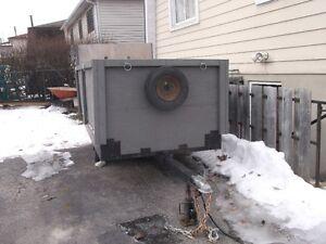 Excellent 4x8 cargo trailer