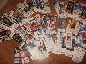 Massive collection of MLB season tickets from almost all teams