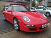 PORSCHE 911 CARRERA 2 S 2005 Petrol Manual in Red