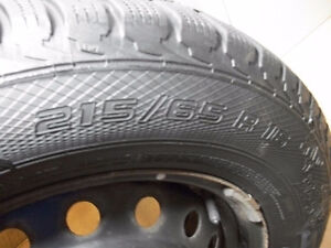 4 Gislaved Nord & Frosts 215 65 16 on Steel Rims 5 x 114.3mm