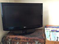 "LG 26"" flat screen tv"