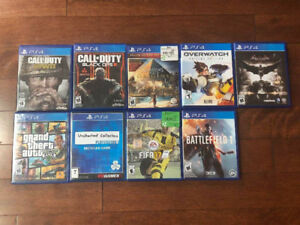 SELLING PS4 GAMES: COD WW2, COD 3, FIFA 17 AND MORE