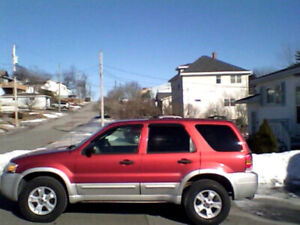 2007 Ford Escape licensed/inspected SUV, Crossover