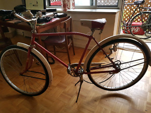 vintage cruiser bike bicycle