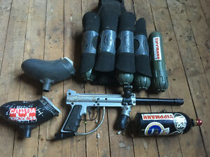 Paintball gun and Acessories