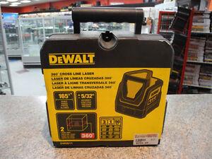Dewalt DW0811 360° Cross Line Laser BNIB