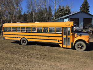 2001 International School Bus 66 Passenger