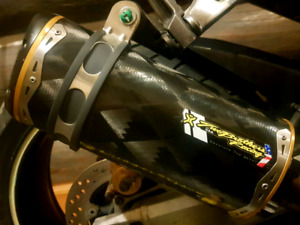 Two brothers race slip-on exhaust