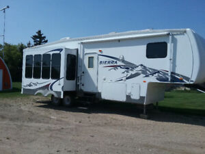 Forest River 5th wheel trailer