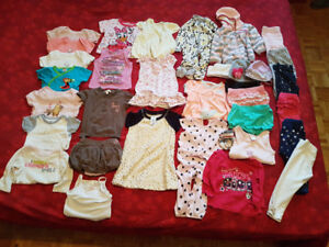 Baby girl clothes 9-12 m