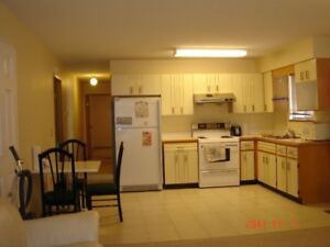 Lookind a female roomate share a two bdrs suite on main floor