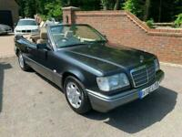 1996 (N) MERCEDES-BENZ E220 2.2 AUTO CABRIOLET + CONVERTIBLE + GREAT INVESTMENT