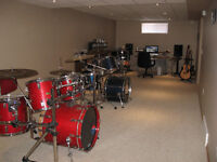 Drum Lessons for the novice to advanced student