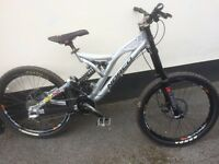 Norco A line downhill bike