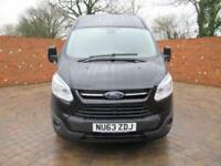 FORD TRANSIT CUSTOM 270 L1 H2 LIMITED SWB 125 BHP HIGH ROOF BLUETOOTH 3 SEATS
