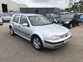 2003 Vw Golf 1.6 1.6 Match, *Low mileage*, Alloys, Air Con, 12 Month Mot, 3 Month Warranty
