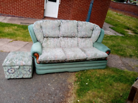 3 seater sofa, 1 seater chair