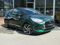 2018 DS DS 3 PURETECH CONNECTED CHIC S/S Hatchback Petrol Manual