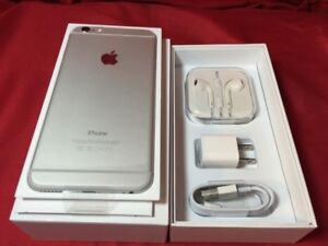 IPhone 6 new space grey unlocked 32gb in box with accessories