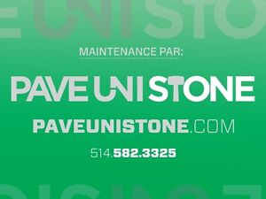 UNISTONE CLEANING & SEALING - PAVE_UNI STONE - PAVER MAINTENANCE West Island Greater Montréal image 2