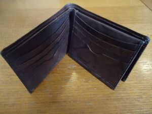 Genuine Italian Leather Harley Davidson Wallet (Dark Brown) West Island Greater Montréal image 2