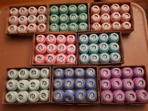 Coats Tatting Crochet $6 for box of 12  125yd balls