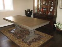 BRAND NEW TRESTLE DINING TABLE