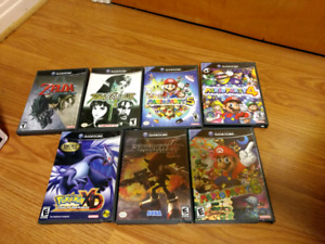 Collection nintendo gamecube