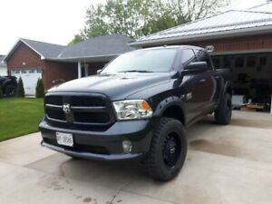 Awesome Lifted Dodge Ram 2017 Only 13,000 kms!!