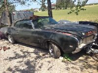 1969 olds cutlass convertible trade for enclosed trailer