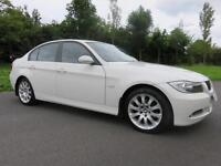 BMW 318D 2.0 TURBO DIESEL ** GENUINE LOW MILES ** ALPINE WHITE ** STUNNING **