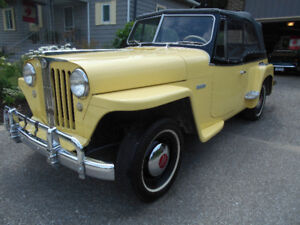 RARE OPPORTUNITY  1950  WILLY'S  JEEPSTER