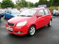 2009 CHEVROLET AVEO 1.4 LT 5 DOOR