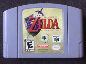 Zelda occarina of Time Nintendo 64