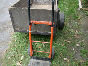 adjustable 2 ways 2 wheel cart