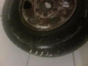 "4 14""good year ultra grip snow tires"