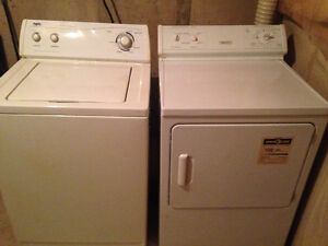 Washer and dryer set $80